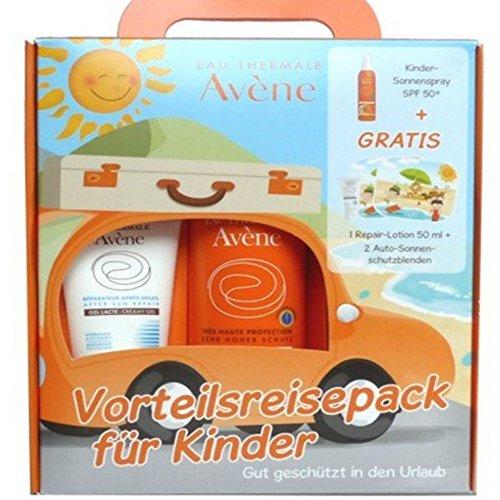 AVENE Kinder Sonnenspray Promopack+gratis Repairem 1 P
