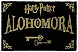 1art1® Harry Potter - Alohomora, Llaves Felpudo Alfombrilla (60 x 40cm)