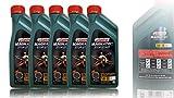 5x 1 L = 5 Liter Castrol Magnatec 5W-30 C2 Motor-Öl Motoren-Öl; Spezifikationen/Freigaben: ACEA C2; PSA Freigabe B71 2290; Meets Fiat 9.55535-S1