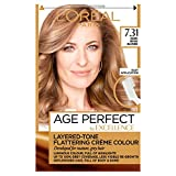 L'Oreal Paris Excellence Age Perfect Hair Colour 7.31 Dark Beige Blonde