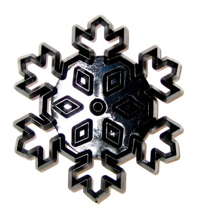 Patchwork Cutters LARGE SNOWFLAKE Christmas Sugarcraft Cake Decorating