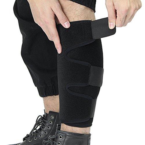 Erhöhte Bein (Sport Wadenbandage Klammer essort, verstellbar schienbeinkompresse, erhöht Blutzirkulation Recovery, reduziert Schwellungen, Krampfadern, Bein Schmerzen, Running, Herren und Damen, Single)