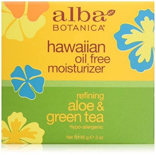 Alba Botanica Ölfreie Aloe Vera und Grüne Tee Feuchtigkeitscreme 90 ml