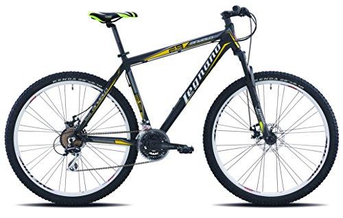 Legnano Ciclo 605 Andalo, Mountain Bike Uomo, Nero, 52