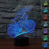 3D Optical Illusion Lampe LED Nachtlichter