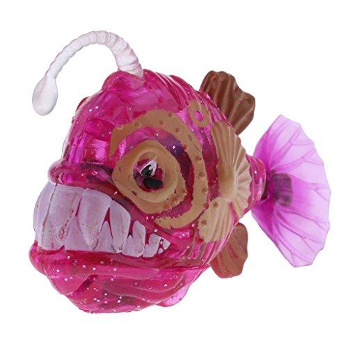 MagiDeal Lebensechte Elektronischer Laterne Fisch / Hai Wasserspielzeug - Kinder pädagogisches Spielzeug - Rose Laterne - Fisch-laterne