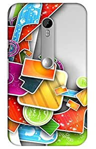 iessential music Designer Printed Back Case Cover for Moto G 3rd Generation