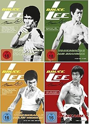 Bruce Lee 4 DVD Set Die Todeskralle schlägt wieder zu, Todesgrüße aus Shanghai, mein letzter Kampf & Die Legende, dvds, KEINE B