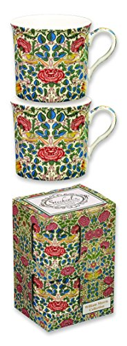 heath-mccabe-countess-duo-de-rosa-de-william-morris-tazas-rojo-set-de-2