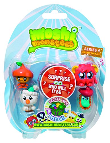 Moshi Monsters 5 Moshlings Pack - Serie 4 [UK Import]