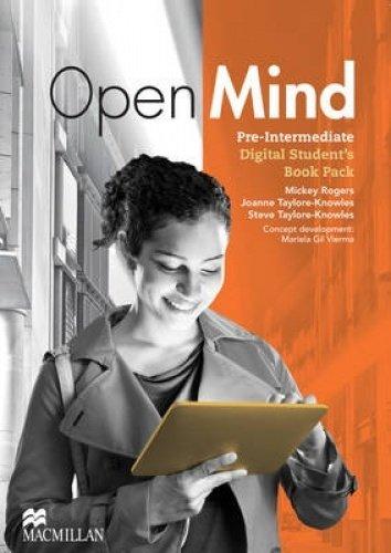Open Mind Pre-intermediate Digital Student's Book Pack (Internet Access Code Card)
