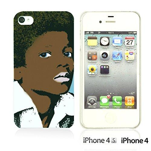 OBiDi - Celebrity Star Hard Back Case / Housse pour Apple iPhone 4S / Apple iPhone 4 - Che Guevara Lovely Little MJ