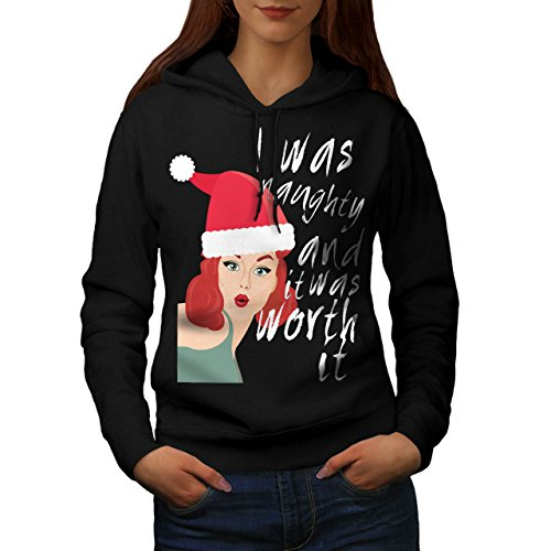 Naughty Girl Christmas Women S Kapuzenpullover   Wellcoda