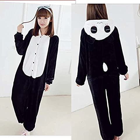 Ferrand - Kigurumi avec Chaussons (Pyjama Onesie ou Costume Cosplay) - Adulte unisexe - Panda M