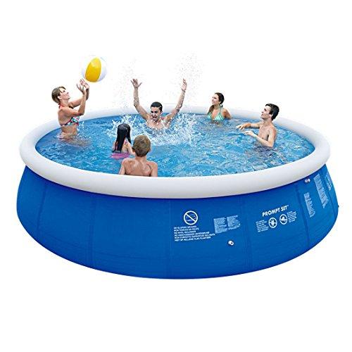 Jilong Marin Blue 540 Set - Quick-up Pool Set 540x122cm, mit Filterpumpe und Kartusche, Leiter, Boden- und Abdeckplane