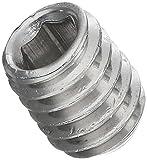 Widex 52091345DIN 913, Perno filettato, acciaio inox A2, M4x 5, confezione da 1000pezzi
