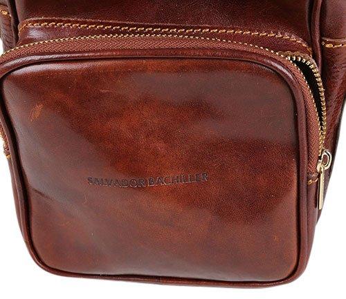 Salvador Bachiller - Borsa con maniglia estraibile - ROMA 5549 - marrone marrón
