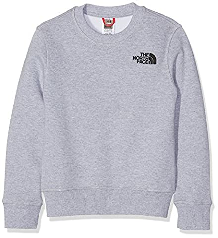 The North Face Drew Peak Kids Outdoor Hoodie available in TNF Light Grey Heather Size Small