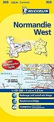 Normandie West (Michelin Localkarte)