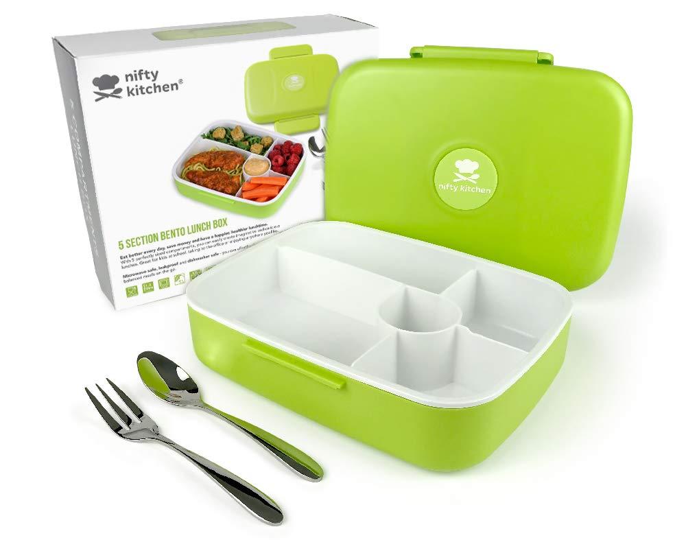 Credenza Per Microonde : Bento box con scomparti porta pranzo coperchio anti