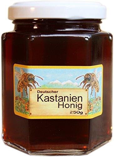 Deutscher Kastanien Honig - Kastanienhonig - Herkunft garantiert aus Deutschland in bester Qualität