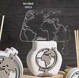 Dolcicose Lampe Plex mit Weltkarte - Gulliver