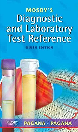 [(Mosby's Diagnostic and Laboratory Test Reference)] [By (author) Kathleen Deska Pagana ] published on (October, 2008)