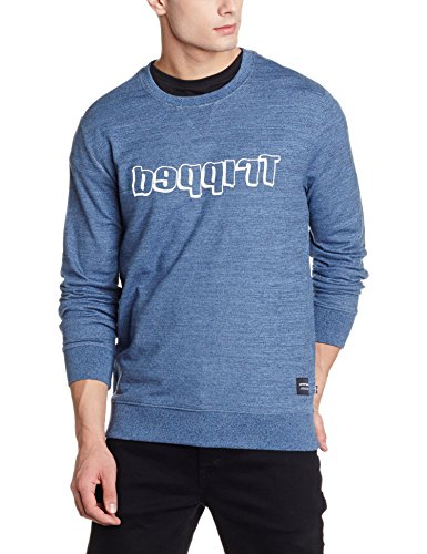 Levis Men's Cotton Sweatshirt (6920028049307_28777-0003_Medium_Blue)