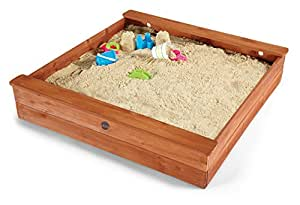Plum Square Outdoor Play Wooden Sand Pit