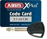 ABUS Faltschloss 6500/85 Bordo Granit X-Plus, Black, 85 cm, 55160 -