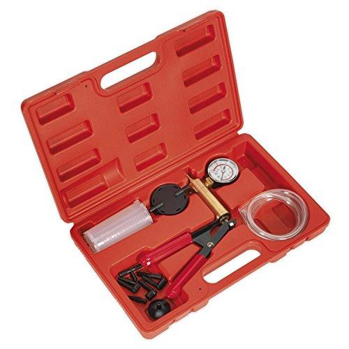 Sealey Set mit Bremsentlüfter und Vakuum-Tester, in Tragekoffer