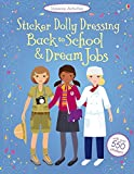 Back to School & Dream Jobs Bind Up (Usborne Activities Sticker Dolly Dressing)