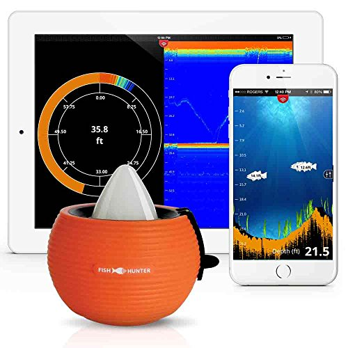 FishHunter - Portable Fish Finder for iPhone, iPad or Android 4.0 - Real Time Sonar through your Smartphone - Connect Via Bluetooth