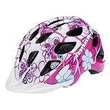 Fahrradhelm Alpina Rocky Kids Gr.S (47-52cm) pink/hellblau/Blumen