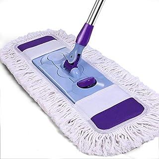 Household cleaning Reinigungsbürste Mop,Staub-Kollektor-Reinigungsgeräte,Mit 1 waschbar Flach Mikrofaser Mop Pads,Für Home Bad/Küche/Büro Corner Alle Bodenreinigung,A