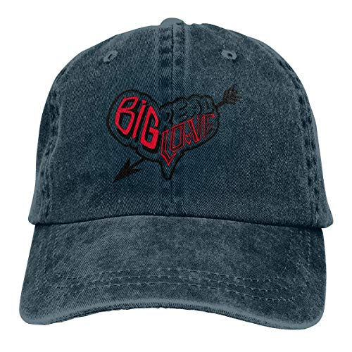 Trucker Cap Big Real Love Logo Durable Baseball Cap,Adjustable Dad Hat Black asdfghjklzxc14013