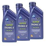 3x 1 L LITER ARAL SUPERTRONIC SUPER TRONIC E 0W-30 MOTOR-ÖL MOTOREN-ÖL 31744122