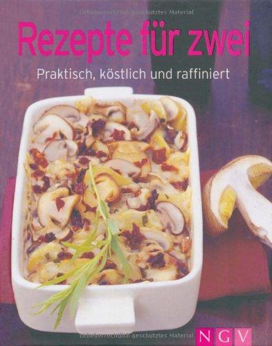 """Unbekannt Ngv Buch""""Rezepte für zwei"""" Minik."""