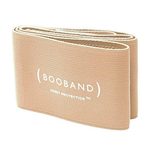 Booband fascia seno reggiseno regolabile donna, alternativa al reggiseno sportivo Beige