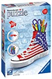 Ravensburger Italy 12549 - 3D Puzzle Sneaker Portapenne immagine