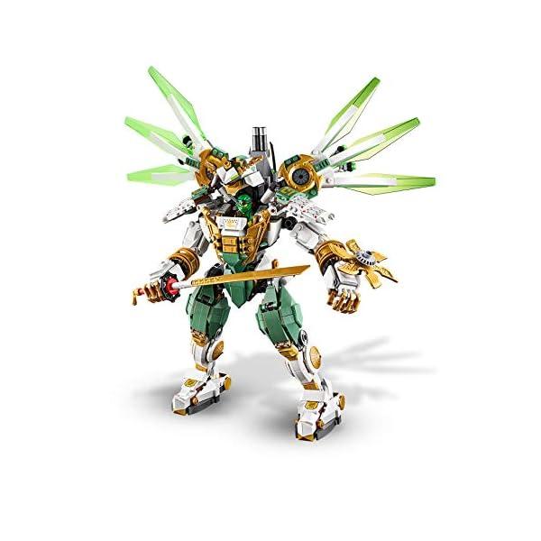 LEGO NINJAGO IlMechTitanodiLloyd, Figura d'Azione, Playset Maestri dello Spinjitzu, 70676 2 spesavip