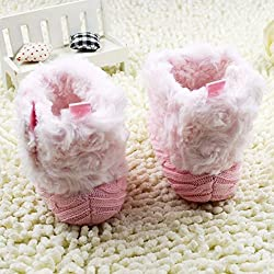 Baby snow boots, Scarpe primi passi bambine rosa Pink 2