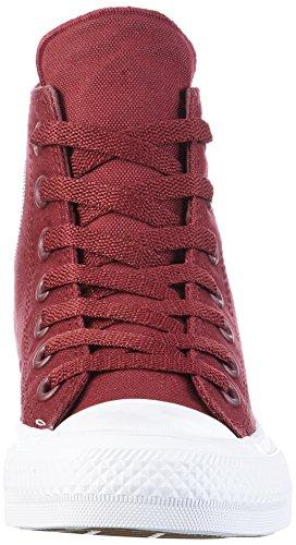Converse Unisex-Erwachsene Ct Ii Hi Sneakers Rot (Deep Bordeaux/white/navy)