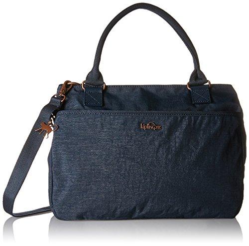 Kipling - Caralisa, Bolsos maletín Mujer, Blau (Spark Navy), 34x25x11 cm (B x H T)
