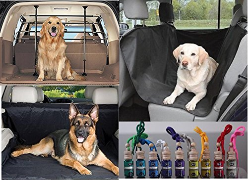 'Ausgezeichnete Qualität' Gitter separatrice Deluxe für Auto für Hunde und Tier Haustiere Auto mit Protector Schale copribaule und