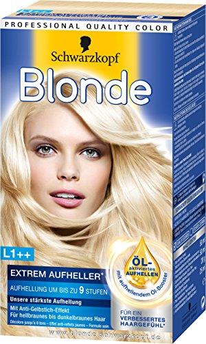Schwarzkopf Blonde L1++ Extrem Aufheller Plus, 3er Pack, (3x 143 g)