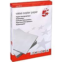 5 Star Value Copier Papier multifonction FSC Rame A3 Blanc [500 feuills]