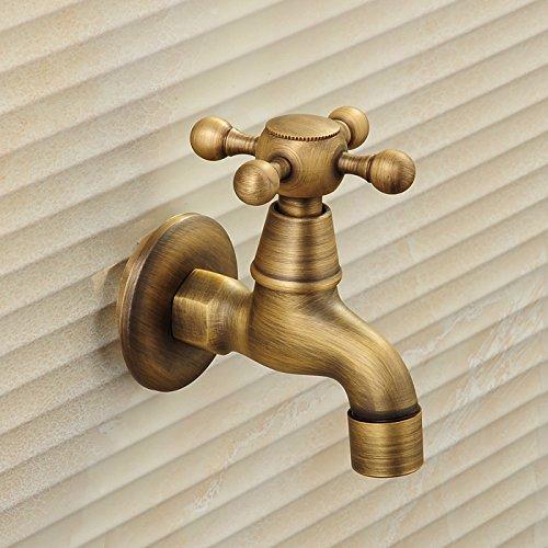 Preisvergleich Produktbild Upper-Mop pool retro Kupfer Wasserhahn einzigen Balkon Wall Art Leitungswasser