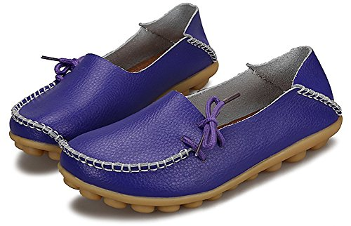 Fangsto  Loafer Flats, Basses femme Sty-1 Purple