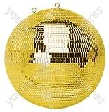FXLAB G007GG Boule à facettes dorée 500 mm